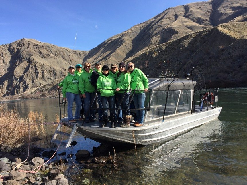 Sonja Schoorl Group had a fun day in Hells Canyon