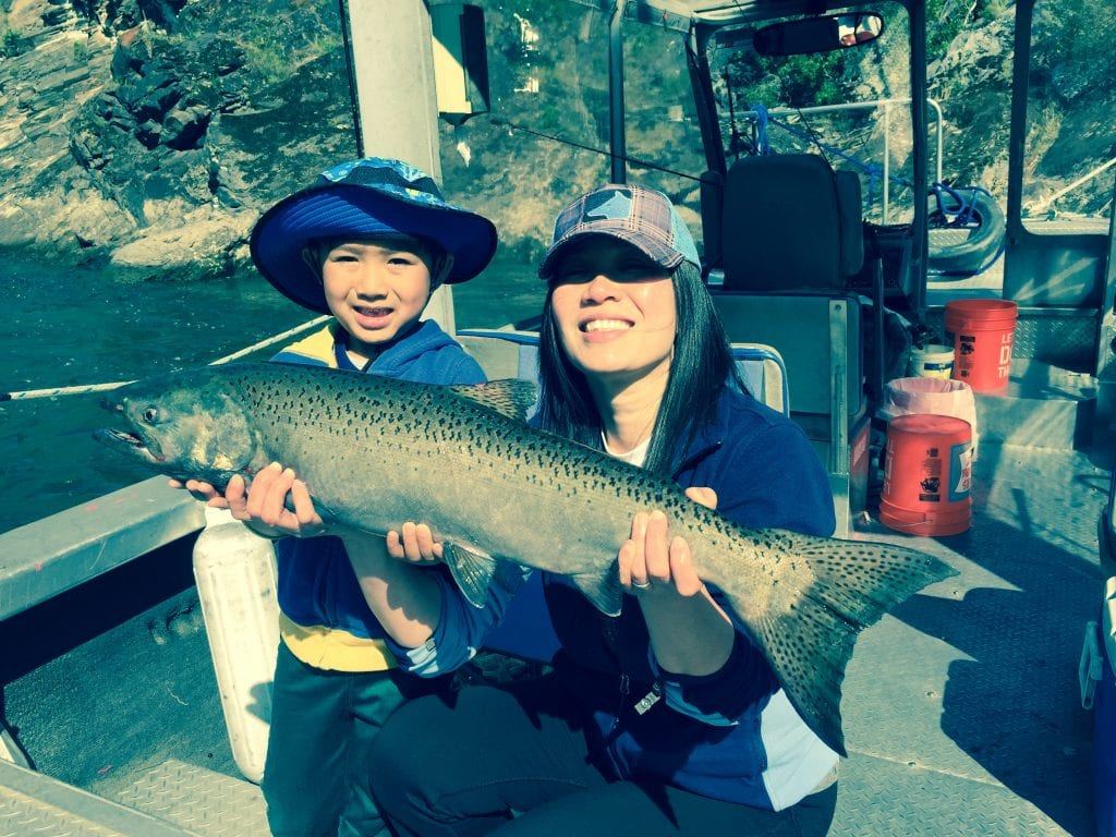 Idaho Salmon Fishing