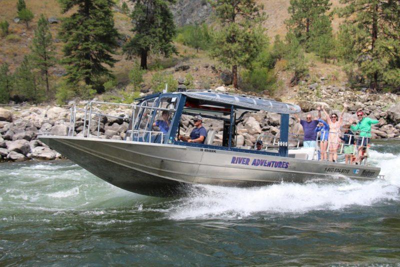 Hells Canyon Salmon River Jet Boat Tours River