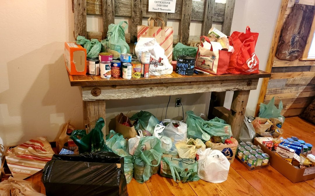 Women With Bait Food Drive, Week 2!