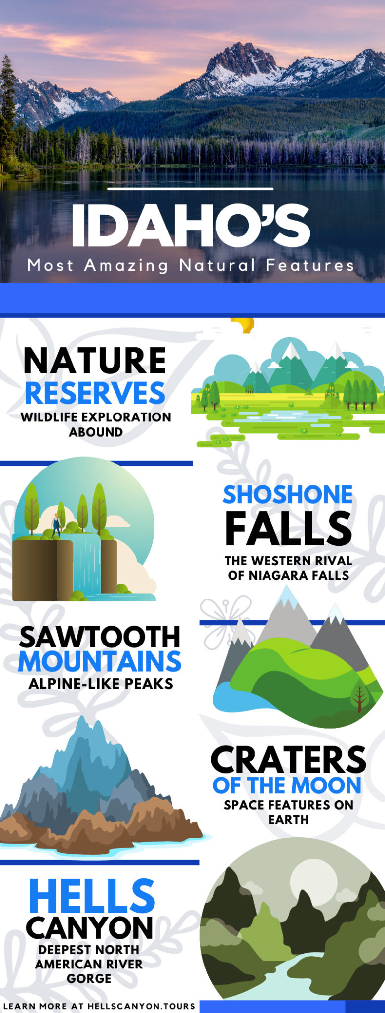 Idaho's Most Amazing Natural Features