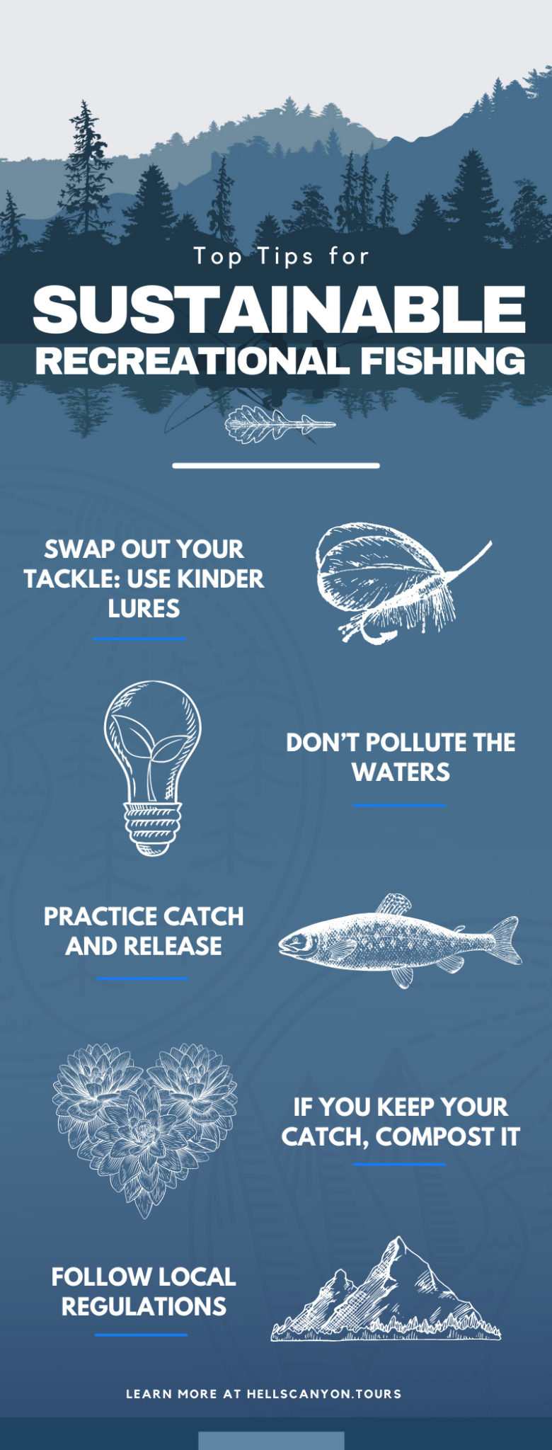Top Tips for Sustainable Recreational Fishing