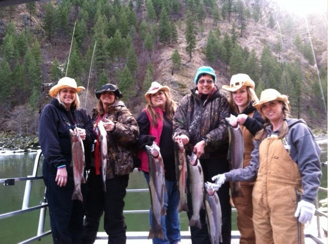 Women With Bait Fishing Tournament