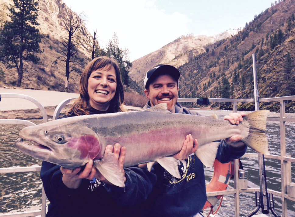 Idaho Steelhead Fishing